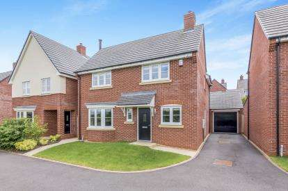 4 Bedrooms Detached House for sale in Syllenhurst View, Woore, Crewe, Shropshire
