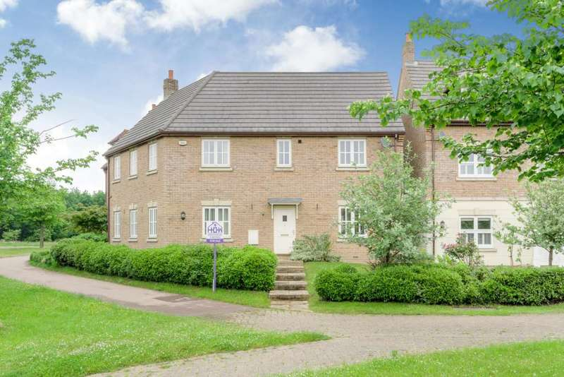 5 Bedrooms Detached House for sale in Wickstead Avenue, Grange Farm