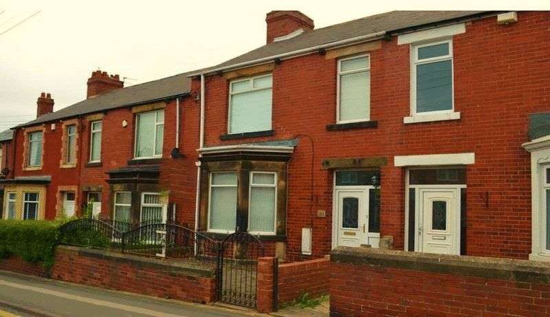 3 Bedrooms Terraced House for sale in Kings Estate agents are proud to welcome to the market this three bed terraced property situated in the prime location of Tyne Road, Stanley.