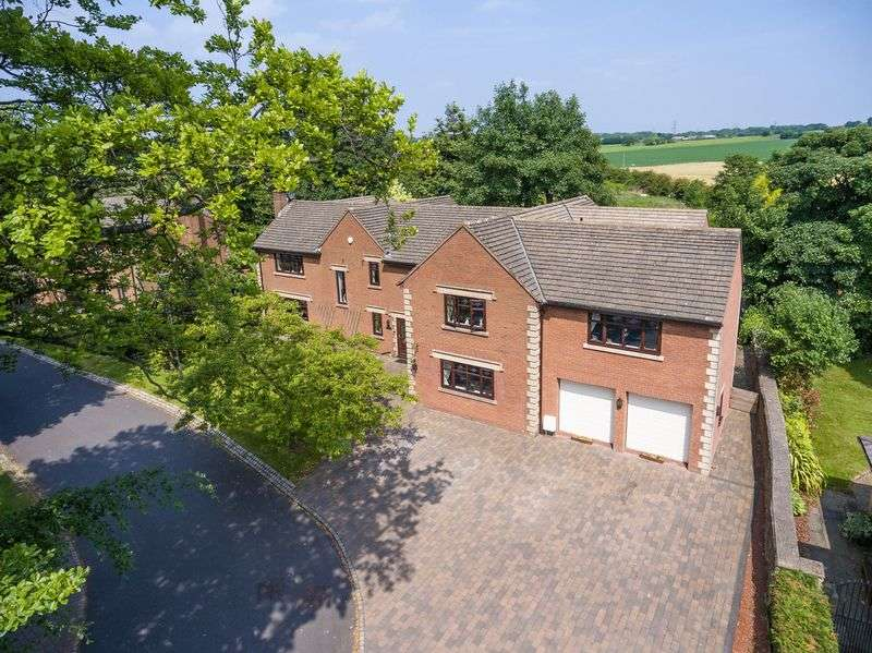 5 Bedrooms Detached House for sale in Manor House Drive, Crawford, WN8 9QZ