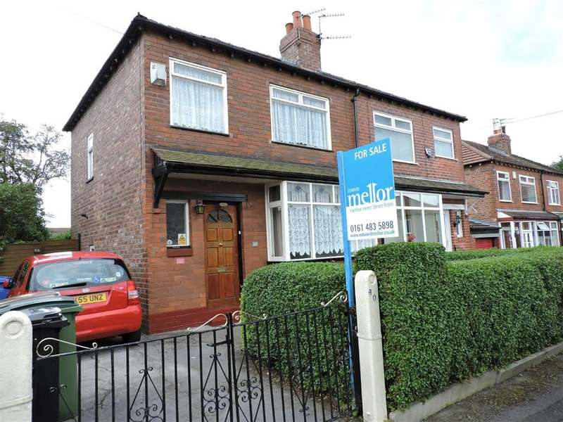 3 Bedrooms Property for sale in Worsley Crescent, Stockport