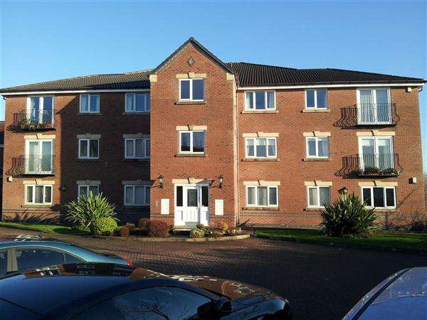 2 Bedrooms Apartment Flat for sale in Castle Hey Close, Unsworth