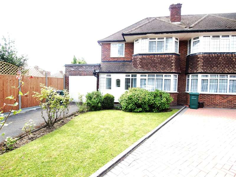 3 Bedrooms Semi Detached House for sale in Chatsworth Close, Hendon, London, NW4