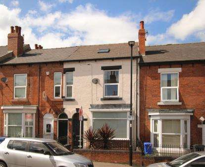 4 Bedrooms Terraced House for sale in Alderson Place, Highfields, Sheffield, South Yorkshire