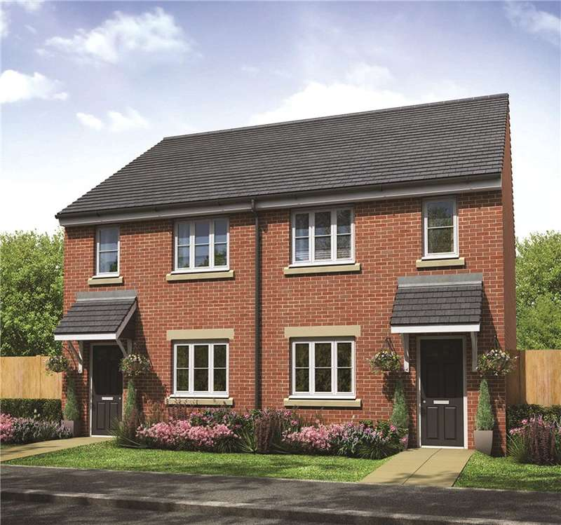 2 Bedrooms Semi Detached House for sale in Plot 3, The Chequers, Templetown, Consett, DH8