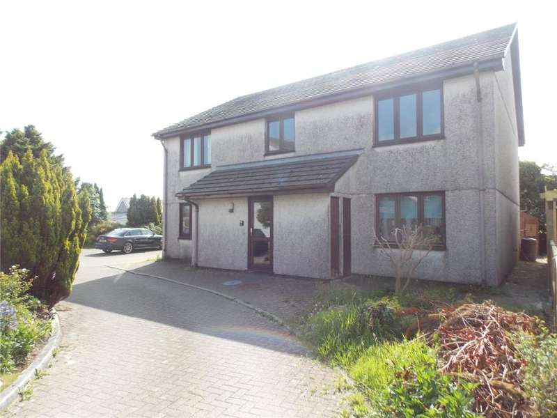2 Bedrooms Flat for sale in Tor View, Molinnis Road, Bugle