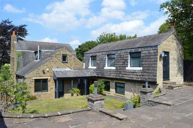 5 Bedrooms Detached House for sale in Bourn View Road, HUDDERSFIELD, West Yorkshire