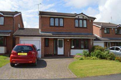 4 Bedrooms Detached House for sale in Bluebird Close, Boley Park, Lichfield, Staffordshire