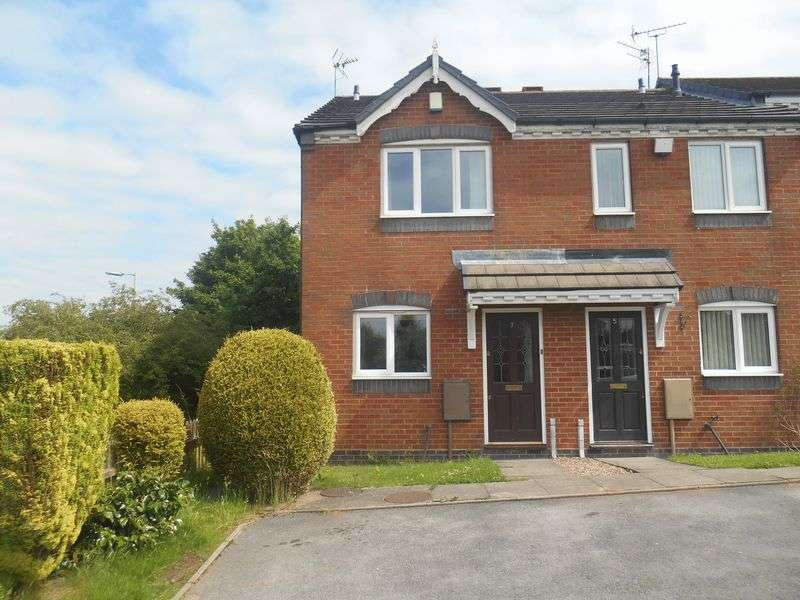 2 Bedrooms Terraced House for sale in Holt Crescent, Heath Hayes