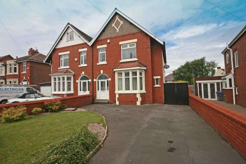3 Bedrooms Semi Detached House for sale in Poulton Road, Blackpool