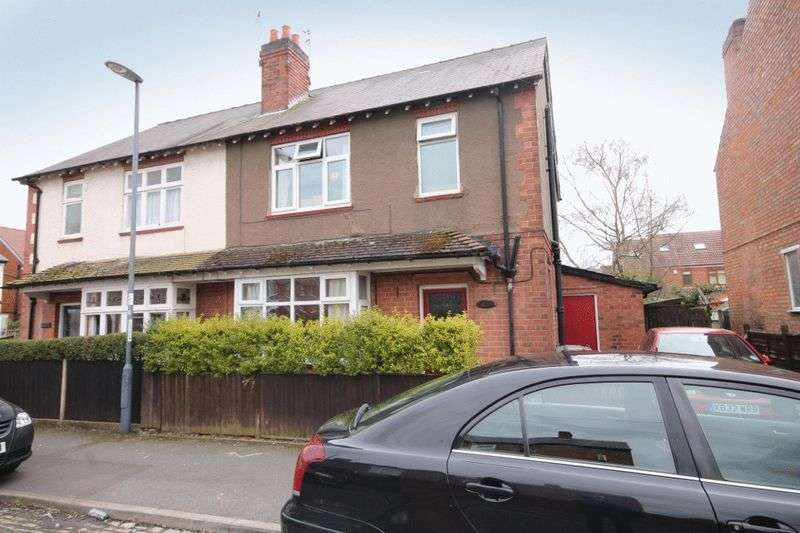 3 Bedrooms Semi Detached House for sale in PALMERSTON STREET, DERBY