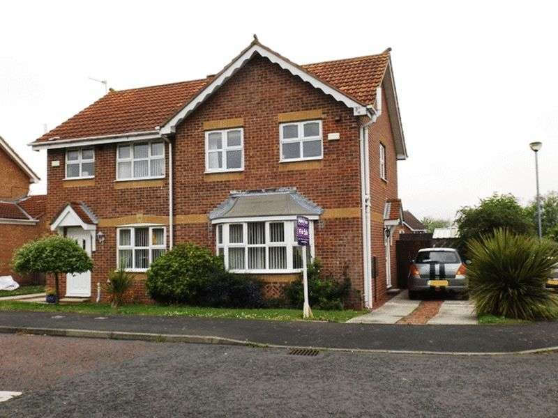 3 Bedrooms Semi Detached House for sale in Kirkharle Drive, Pegswood - Three Bedroom Semi Detached House