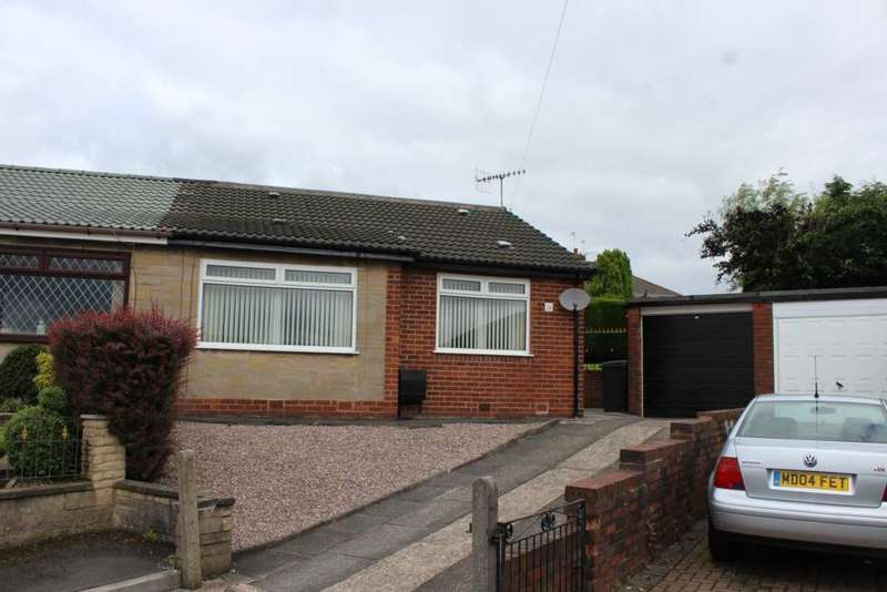 2 Bedrooms Semi Detached Bungalow for sale in Beaufont Drive, Oldham