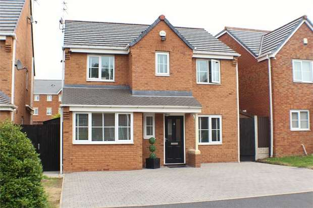 4 Bedrooms Detached House for sale in Ridgewell Close, Litherland, Liverpool, Merseyside