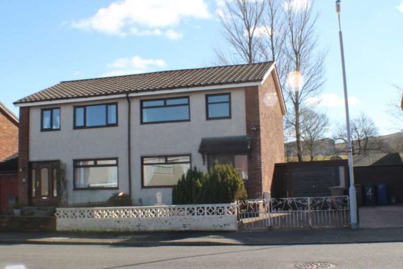 3 Bedrooms Semi Detached House for sale in Walpole Place, Johnstone