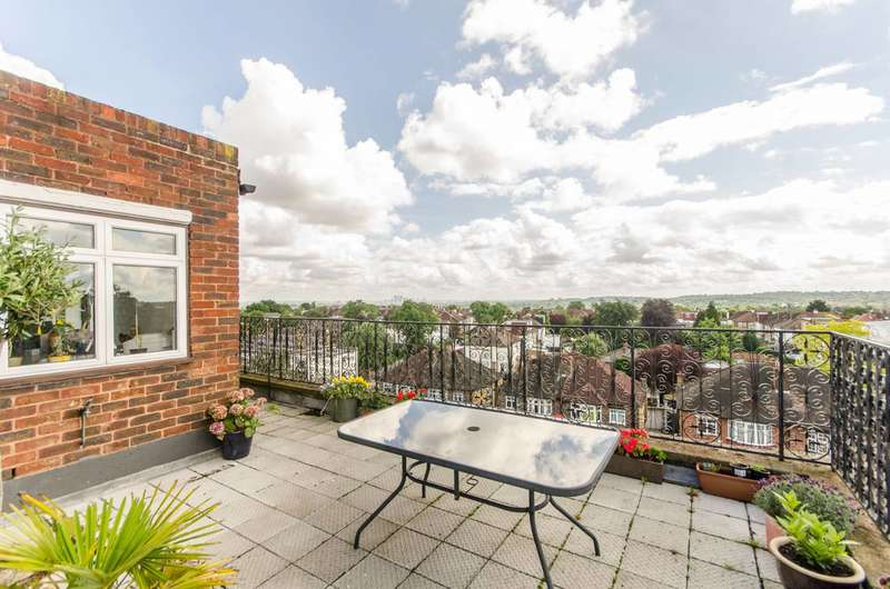 2 Bedrooms Penthouse Flat for sale in Leigham Court Road, Streatham, SW16