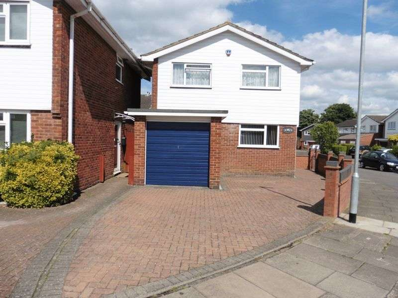 4 Bedrooms Detached House for sale in St. Christophers Close, Dunstable