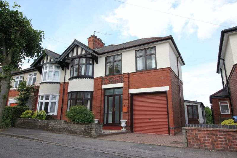 4 Bedrooms Semi Detached House for sale in Rose Avenue, Retford