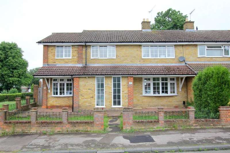 4 Bedrooms End Of Terrace House for sale in Dellcut Road, Hemel Hempstead
