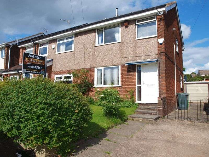 3 Bedrooms Semi Detached House for sale in Eafield Avenue, Milnrow, OL16 3UN