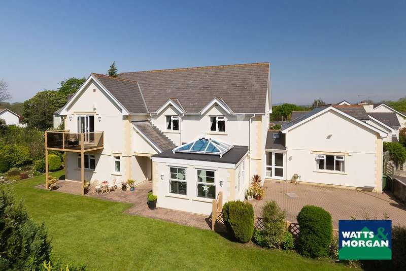 5 Bedrooms Detached House for sale in The Court, Corntown, Vale of Glamorgan, CF35 5BJ