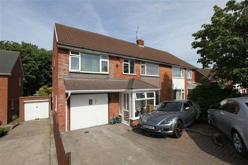 5 Bedrooms Semi Detached House for sale in Uplands Crescent, Penarth