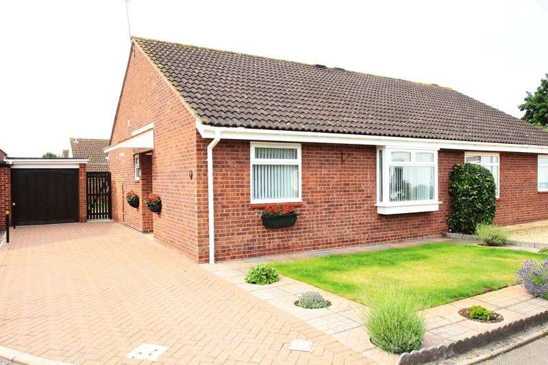 2 Bedrooms Semi Detached Bungalow for sale in Dudley Court Barrs Court Bristol