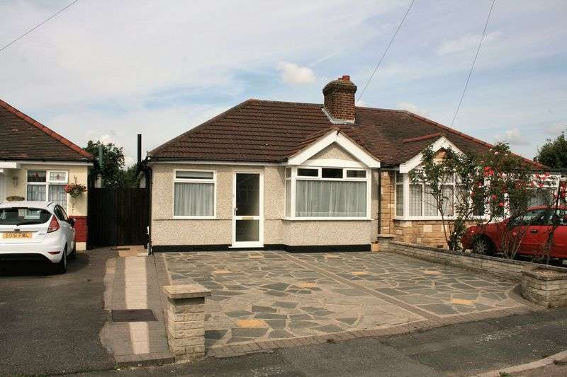 2 Bedrooms Semi Detached Bungalow for sale in Marina Gardens, Romford