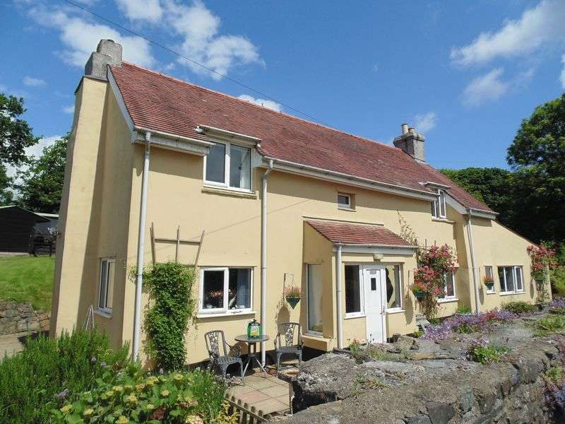 4 Bedrooms Detached House for sale in Sourton