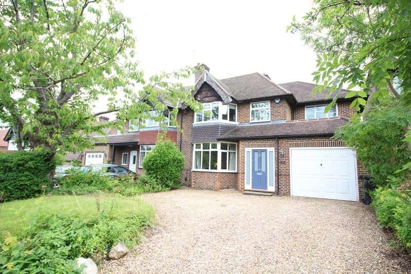 4 Bedrooms Semi Detached House for sale in Farley Road, Selsdon, South Croydon, Surrey