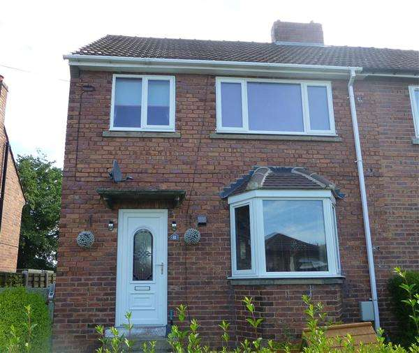 3 Bedrooms Semi Detached House for sale in Serlby Lane, Harthill, Sheffield
