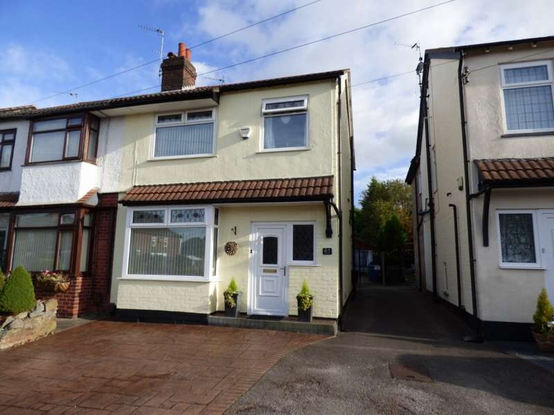 3 Bedrooms Semi Detached House for sale in DIALSTONE LANE OFFERTON STOCKPORT