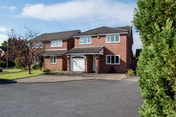 4 Bedrooms Detached House for sale in Houghwood Grange, Ashton-in-Makerfield, Wigan, Lancashire