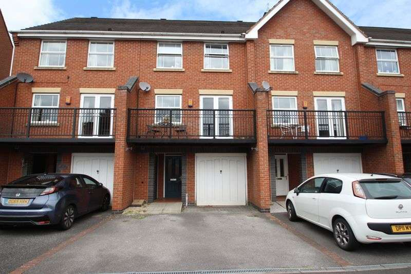 4 Bedrooms Terraced House for sale in Edgbaston Drive, Trentham Lakes, Stoke-On-Trent