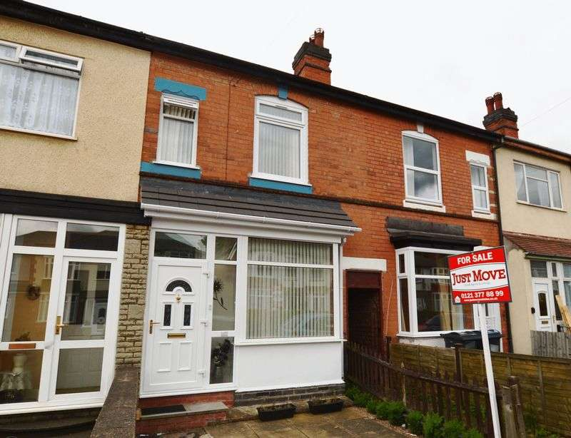 3 Bedrooms Terraced House for sale in Fern Road, Birmingham