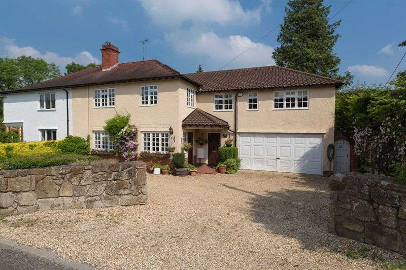 4 Bedrooms Semi Detached House for sale in Pentre, Chirk