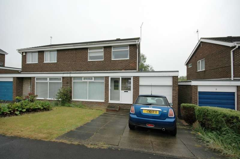 3 Bedrooms Semi Detached House for sale in Faversham Place, Cramlington, Northumberland, NE23