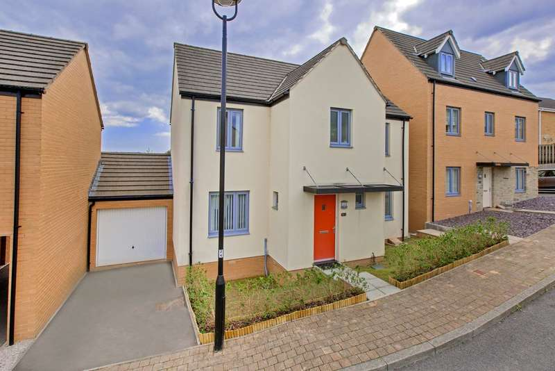 4 Bedrooms Semi Detached House for sale in Orleigh Cross, Newton Abbot