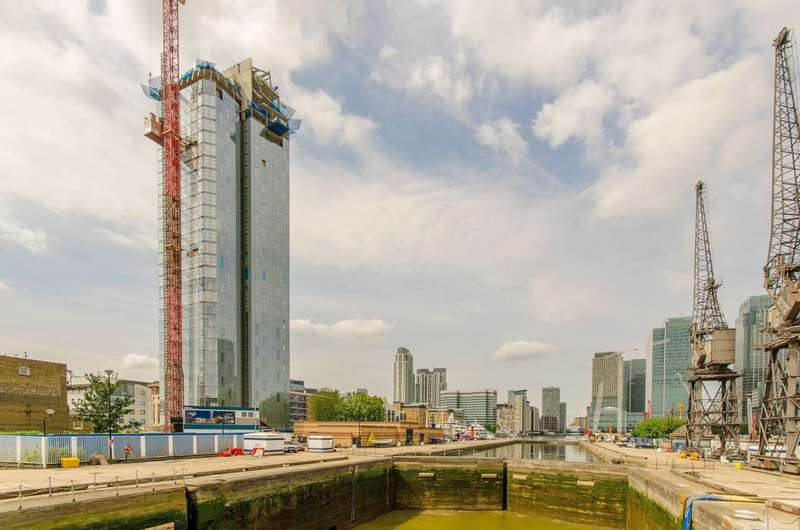 3 Bedrooms Flat for sale in Dollar Bay, Canary Wharf, E14