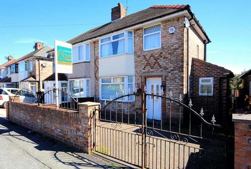 3 Bedrooms Semi Detached House for sale in Francis Way, Childwall, Liverpool, L16