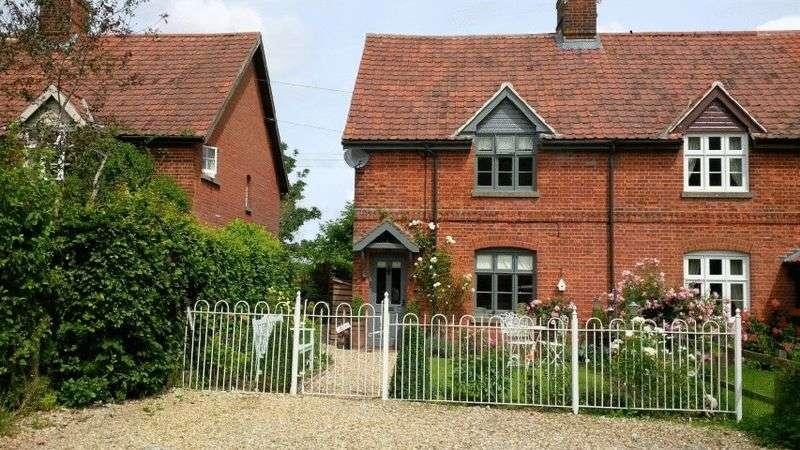 2 Bedrooms Semi Detached House for sale in Gateley, Dereham