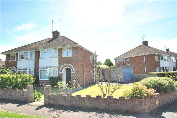 3 Bedrooms Semi Detached House for sale in Norwich Drive, CHELTENHAM, GL51 3HE