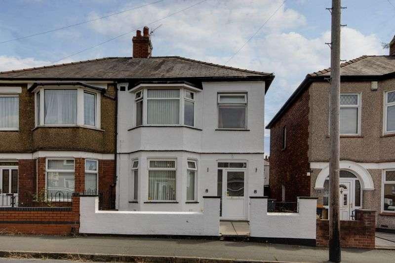 3 Bedrooms Semi Detached House for sale in Hawarden Road, Newport
