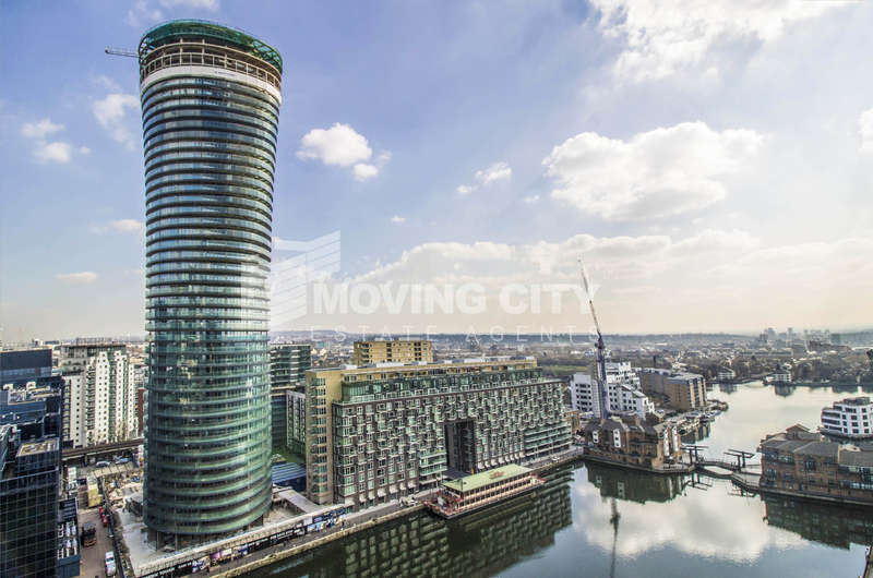 2 Bedrooms Flat for sale in Baltimore Tower, 30 Crossharbour, Canary Wharf