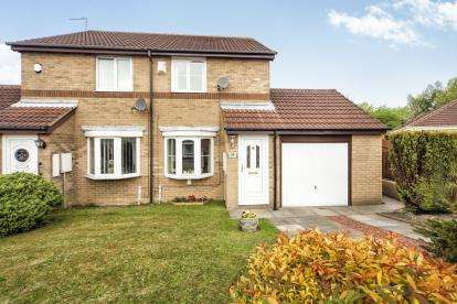 2 Bedrooms Semi Detached House for sale in Swanton Close, Newcastle Upon Tyne, Tyne and Wear, NE5