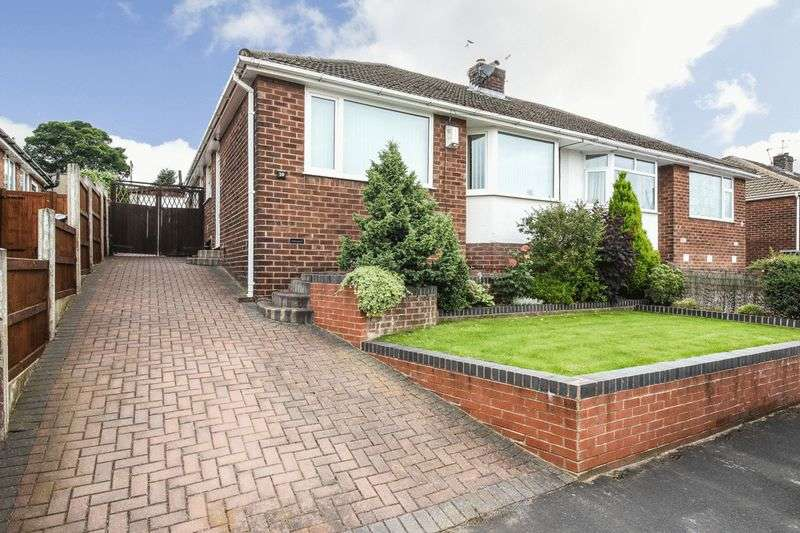 2 Bedrooms Semi Detached Bungalow for sale in Elm Avenue, Standish
