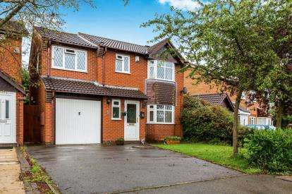 4 Bedrooms Detached House for sale in Coldstream Close, Hinckley, Leicestershire