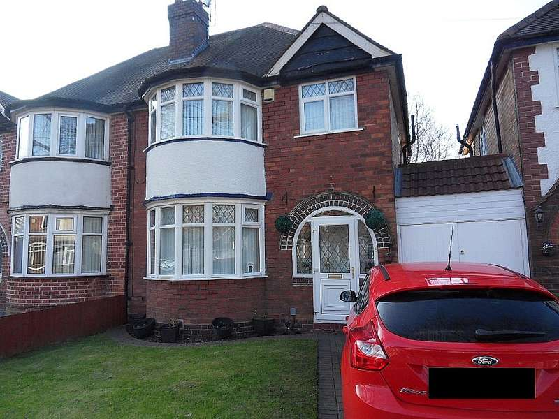 3 Bedrooms Semi Detached House for sale in Wynford Road, Acocks Green, Birmingham