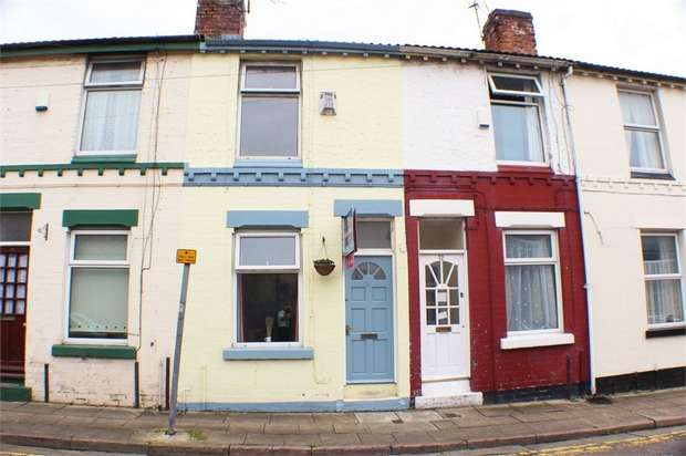 2 Bedrooms Terraced House for sale in Waterloo Street, Liverpool, Merseyside