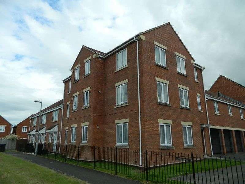 2 Bedrooms Flat for sale in Lords Way, Bridgwater